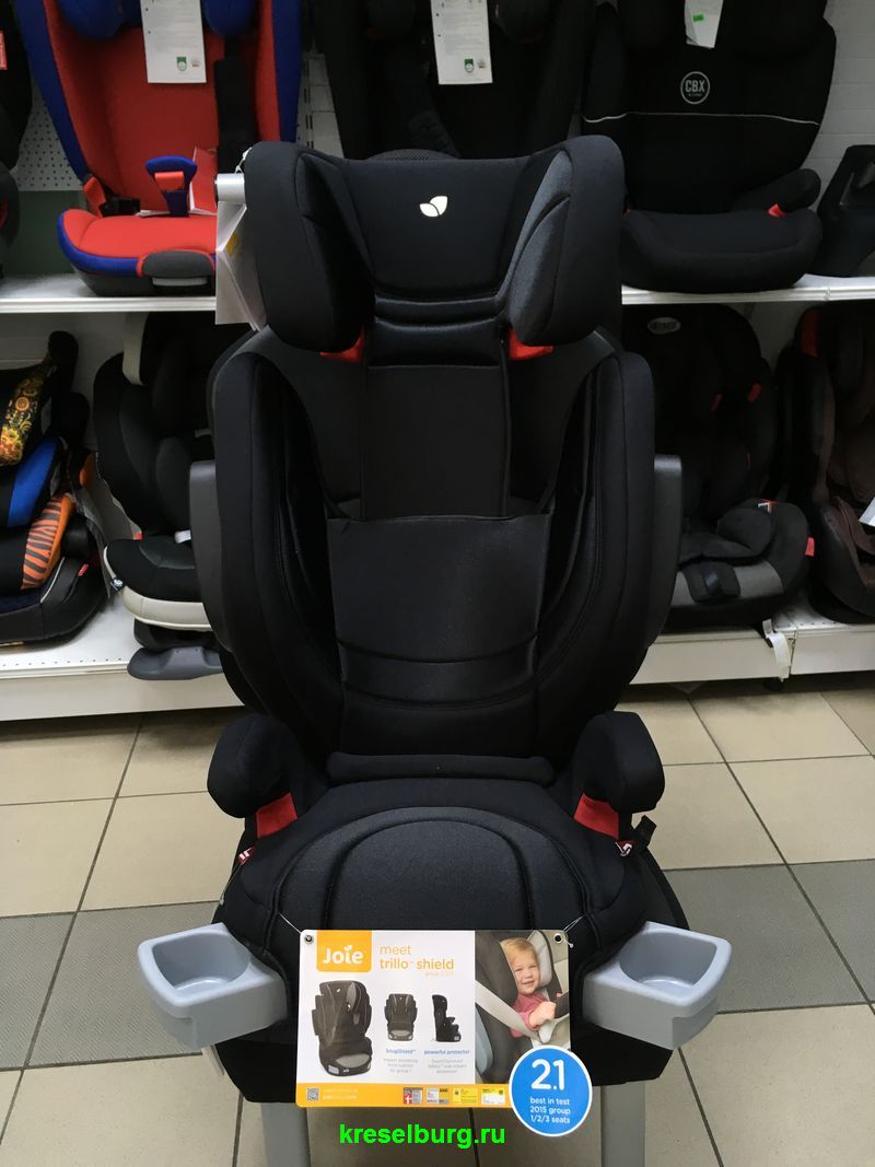Автокресло JOIE TRILLO SHIELD ISOFIX (9-36 кг)