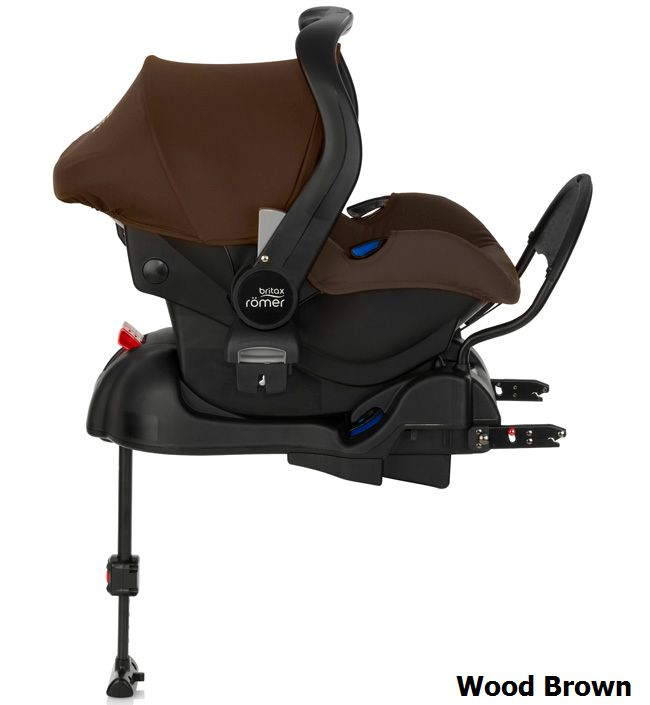 Комплект: автокресло BRITAX ROEMER PRIMO Wood Brown + база ISOFIX (0-13 кг)